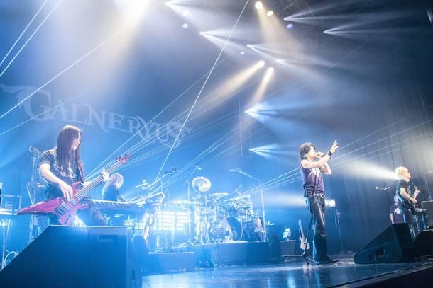 "【GALNERYUS ライヴレポート】 『GALNERYUS 15th Anniversary  ~Radiance~ ""WAILING IN THE FLAMES  OF PURGATORY"" TOUR』 2020年1月10日  at 新木場 STUDIO COAST"