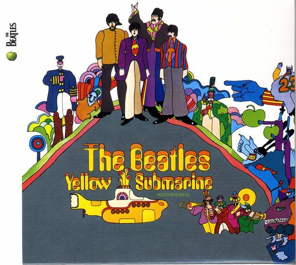 「Yellow Submarine」収録アルバム『YELLOW SUBMARINE』/The Beatles