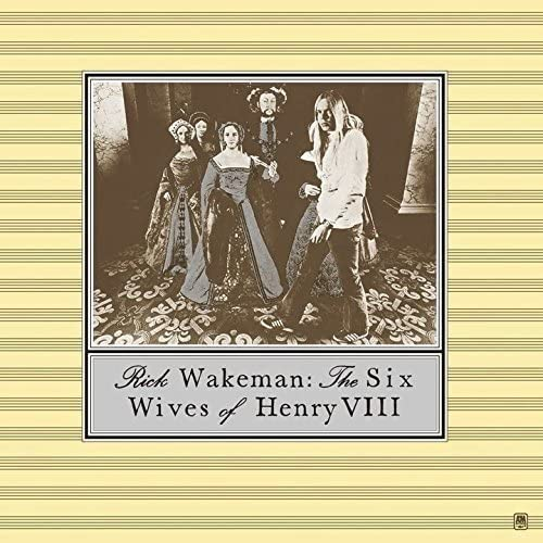 『The Six Wives of Henry VIII』('73)/Rick Wakeman