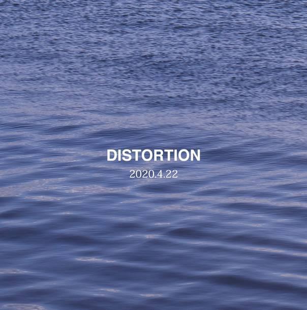 アルバム『DISTORTION』ジャケ写(表)