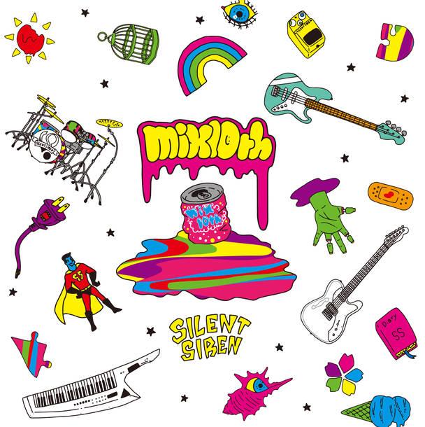アルバム『mix10th』【ファンクラブ限定盤】(CD+DVD+サイサイ絵本+GOODS)