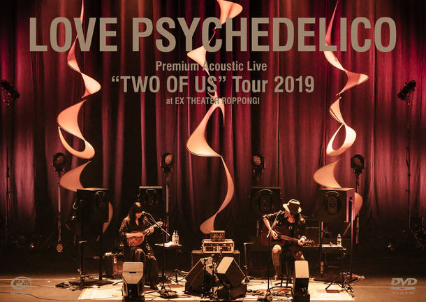 """Blu-ray&DVD『Premium Acoustic Live """"TWO OF US"""" Tour 2019 at EX THEATER ROPPONGI』【DVD】"""