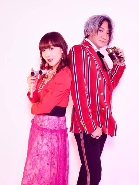 L→R atsuko(Vo)、KATSU(Key&Gu)