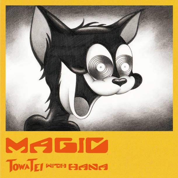 限定EP盤『MAGIC』(7inchi アナログ)表ジャケット