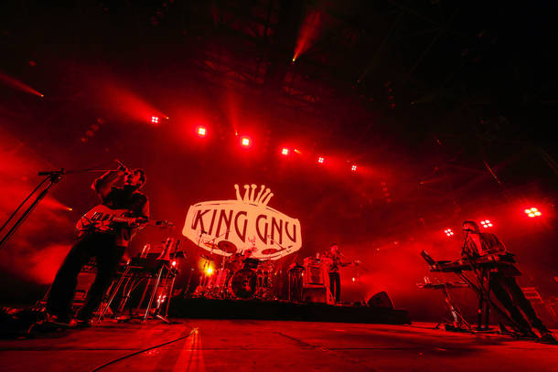 『COUNTDOWN JAPAN 19/20 supported by Amazon Music』(King Gnu)