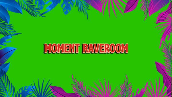 "DJ ""RAVE""booth:MOMENT RAVEROOM"