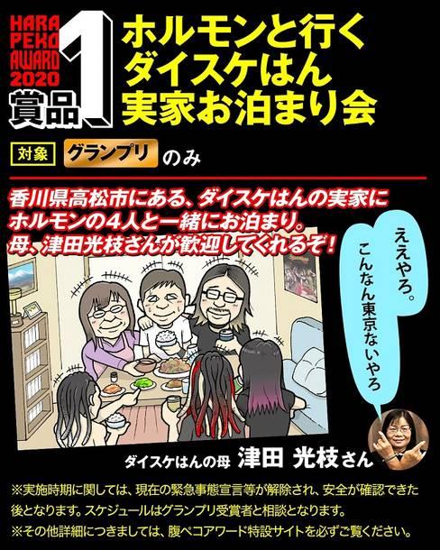 『マキシマム ザ ホルモン ファンアートコンテスト【腹ペコアワード2020】』