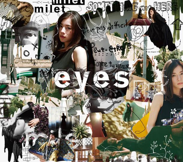 アルバム『eyes』【初回生産限定盤A】(CD+Blu-ray)
