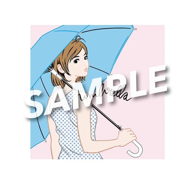 メンバー直筆サイン入り「umbrella」LPサイズジャケット
