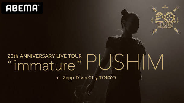 "『PUSHIM 20th ANNIVERSARY TOUR ""immature""』"