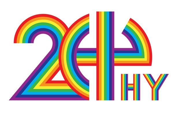 HY 結成20周年記念ロゴ