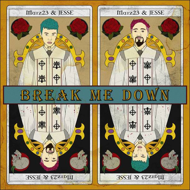 配信楽曲「Break Me Down (feat. JESSE)」