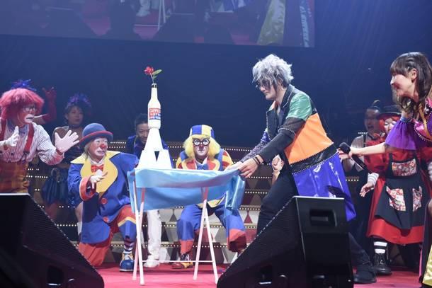 Blu-ray『angelaのミュージック・ワンダー★大サーカス 2019 LIVE Blu-ray』より