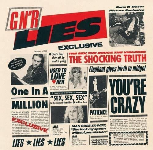 「Patience」収録アルバム『GN'R LIES』/GUNS N' ROSES