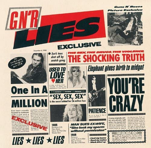 「Patience」収録アルバム『GN'R LIES』/GUNS N' ROSES
