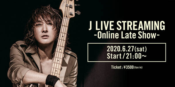 『J LIVE STREAMING -Online Late Show-』
