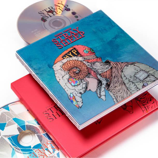 アルバム『STRAY SHEEP』【アートブック盤(初回限定)】(CD+DVD+アートブック)