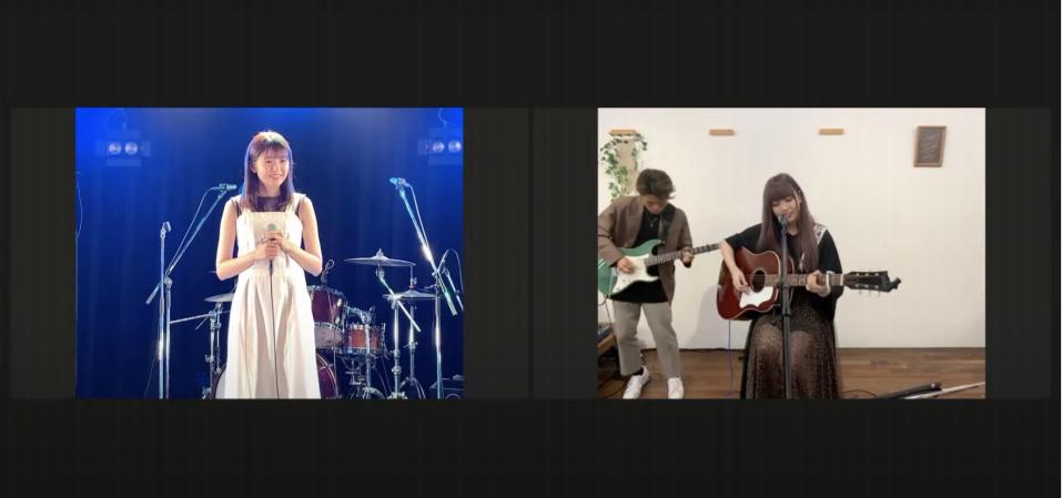 「たけやま3.5」の武田雛歩と長久玲奈のコラボ