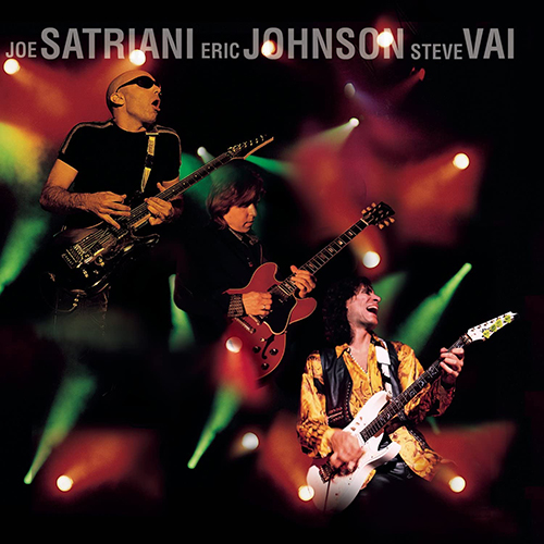 『G3 Live In Concert』('97)/Joe Satriani, Eric Johnson, Steve Vai