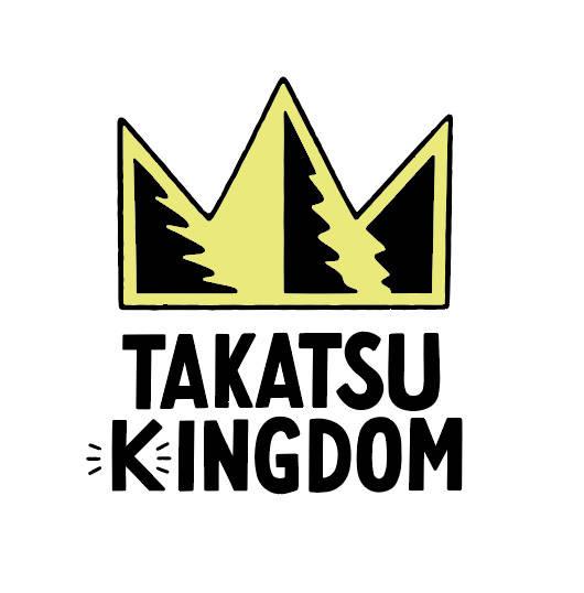 オフィシャルファンクラブ「たかつき王国(TAKATSUKINGDOM)」 ロゴ
