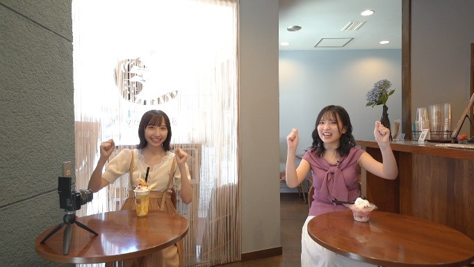 STU48の薮下楓、榊美優