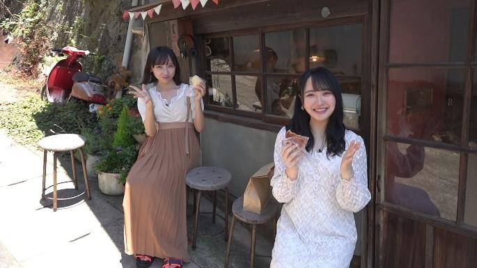 STU48の薮下楓、石田千穂