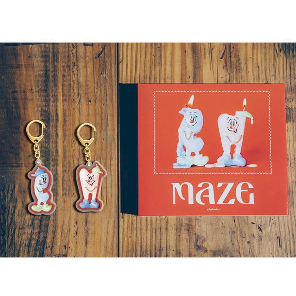 アルバム『maze』グッズ画像