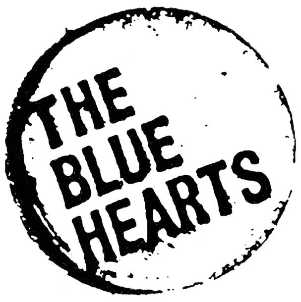 THE BLUE HEARTS ロゴ