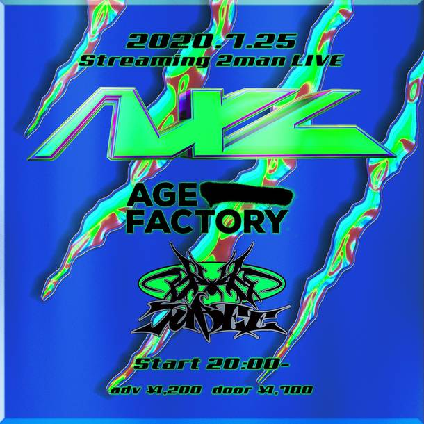 """Age Factory Presents Streaming 2man live """"AXL"""""""