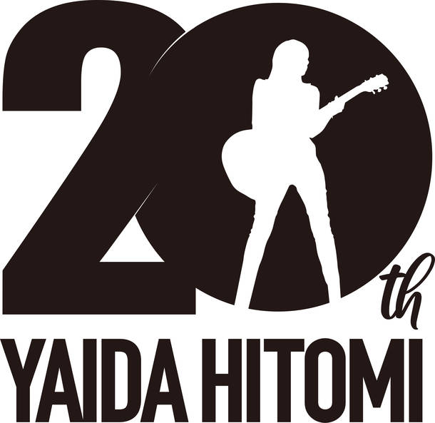 矢井田 瞳 デビュー20周年ロゴ