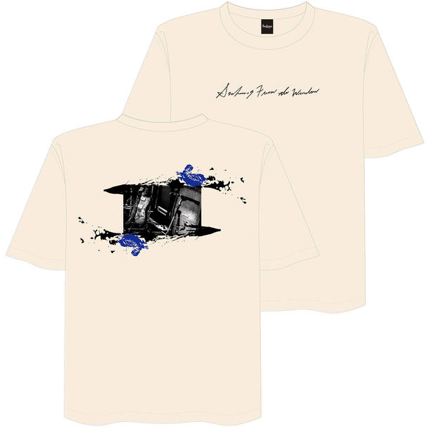 From The Window TEE Designed by KCEE & TAIHEI ナチュラル