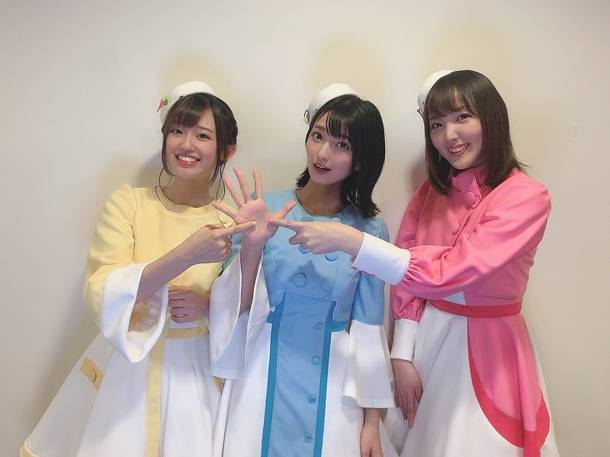 """メンバー3人で、あと""""7日""""を表現!"""