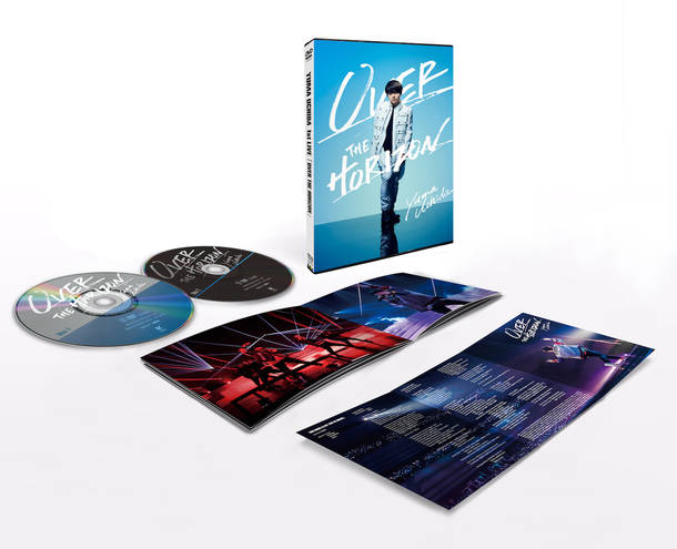 DVD『YUMA UCHIDA 1st LIVE「OVER THE HORIZON」』展開図
