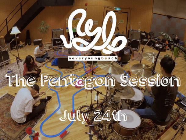 『The Pentagon Session @ Setagaya Studio』フライヤー