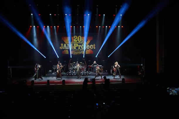 7月18日(土)@『JAM Project 20th Anniversary Special Thank you so, so much ! 〜一緒にうたおう』 photo by  長澤智典