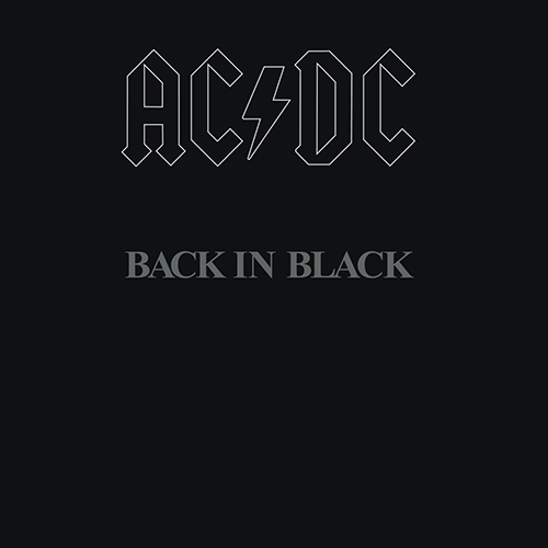 『Back in Black』('80)/AC/DC