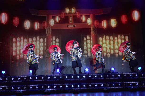 8月2日(日)@有料配信ライブ『M!LK ONLINE CHU?? SUMMER ~Around the World〜』 text by  永堀アツオ