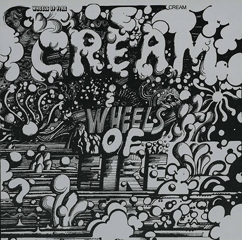 「White Room」収録アルバム『Wheels of Fire』/Cream