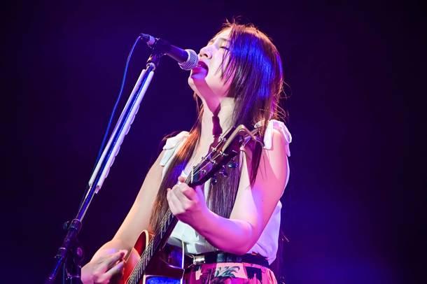 8月9日(日)@『Osaka Music DAYS!!! THE LIVE in 大阪城ホール』【阿部真央】  photo by 渡邉一生、ハヤシマコ
