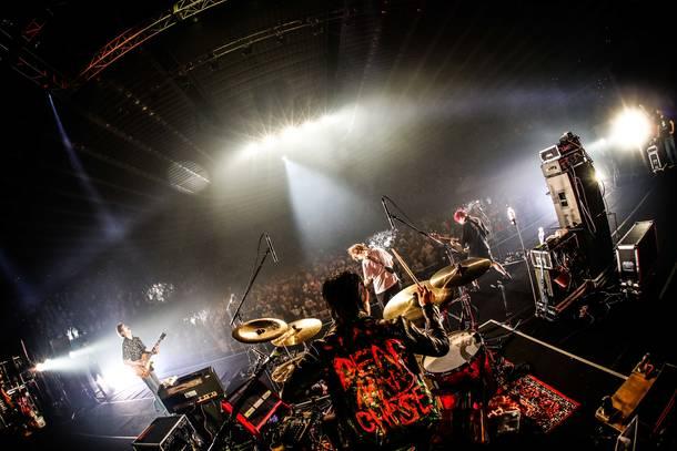 8月9日(日)@『Osaka Music DAYS!!! THE LIVE in 大阪城ホール』【go!go!vanillas】  photo by 渡邉一生、ハヤシマコ
