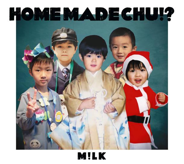 アルバム『HOME MADE CHU!?』【FC限定盤】(CD+Blu-ray+三方背)