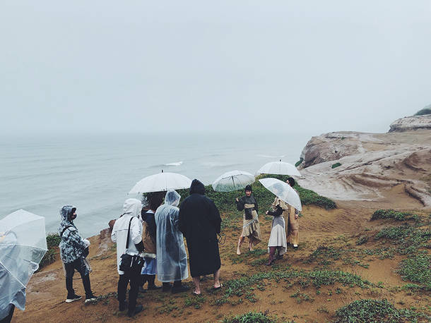 「THE MARCH」MV オフショット
