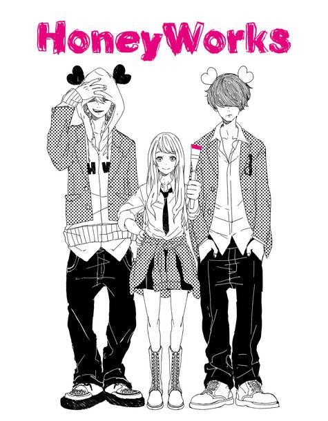 L→R Gom(Composer)、ヤマコ(Illustrator)、shito(Composer)