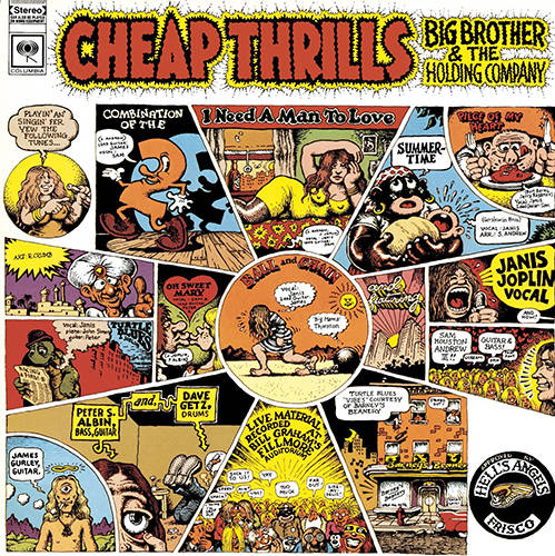 「Summertime」収録アルバム『CHEAP THRILLS』/ビッグ・ブラザー&ザ・ホールディング・カンパニー