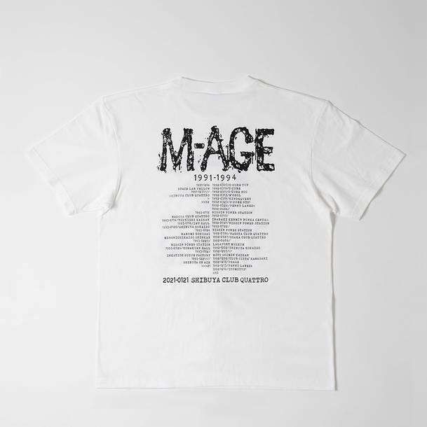 M-AGE リユニオン記念Tシャツ【白】裏