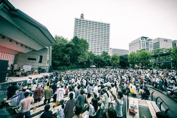 9月20日(日) @日比谷野外音楽堂 photo by  田中聖太郎