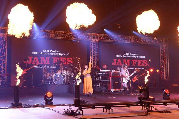 9月19日(土)@『JAM Project 20th Anniversary Special JAM FES.<JAPAN ANISONG MEETING FESTIVAL>』