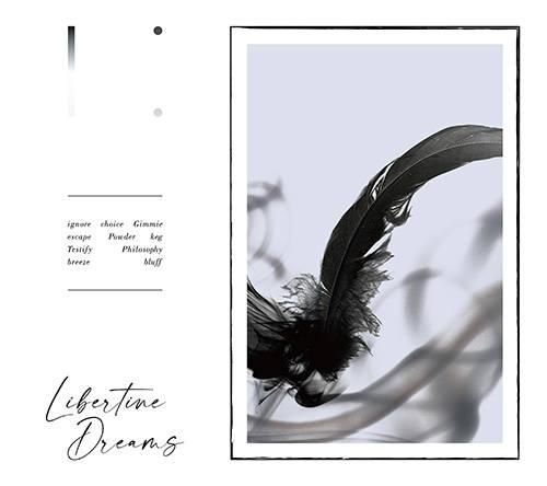 アルバム『Libertine Dreams』【完全生産限定盤】(CD+Blu-ray+写真集)【初回限定盤】(CD+Blu-ray)