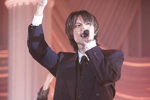 9月27日@『SUPER★DRAGON 5th anniversary ONLINE LIVE 「CEREMONY -Dinner Time-」』 photo by 笹森健一