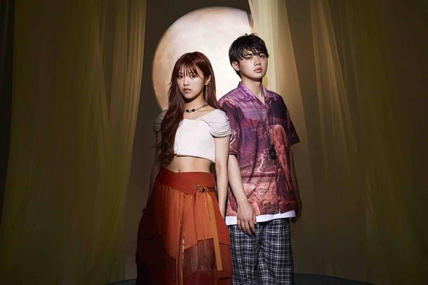 L→R MaRuRi、Ryuga